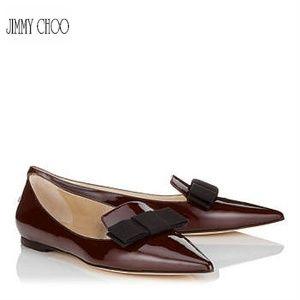 JIMMY CHOO Gala ballerinas
